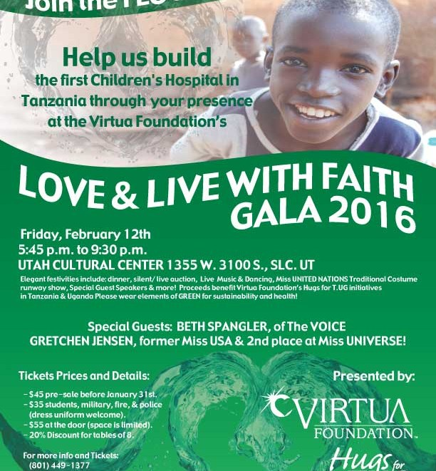 Flier - Love & Live with FAITH 2016 GREEN